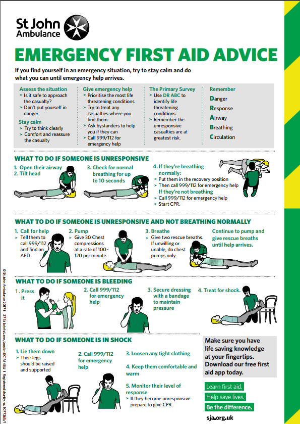 photograph relating to Printable Pocket First Aid Guide called Very simple 1st Assistance direct Pdf